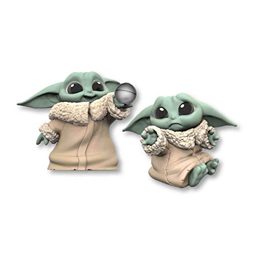 Star Wars The Bounty Collection The Child Baby Yoda, mit Schmuse-Pose und Ball, 5,5 cm. große Figuren, 2er-Pack