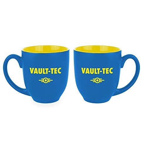 Gaya Entertainment Oversize-Mug 'Vault-Tec' GE3554, Blau/Gelb, Standard