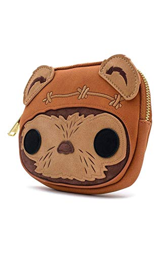 Star Wars Loungefly - Wicket Frauen Geldbörse braun Kunstleder Fan-Merch, Film, Loungefly