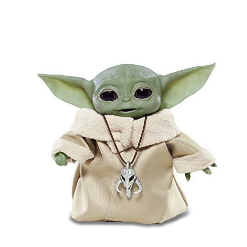 Star Wars The Child elektronische Edition mit über 25 Sound- und Bewegungskombinationen, The Mandalorian Spielzeug für Kinder ab 4 Jahren