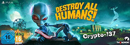 Destroy All Humans! Crypto-137 Edition [Playstation 4]