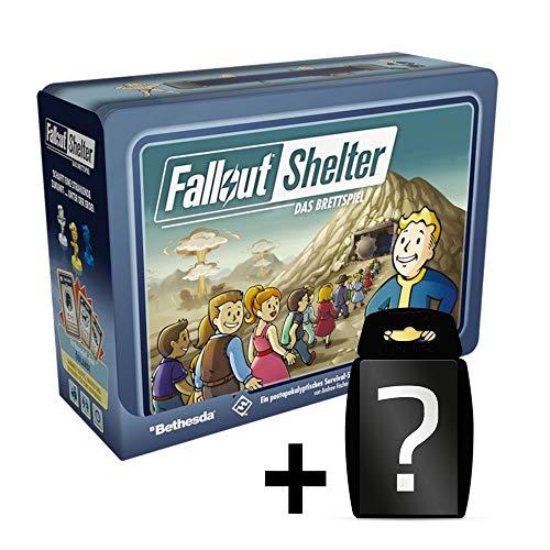 Fallout Shelter: Das Brettspiel | DEUTSCH | Set inkl. Kartenspiel