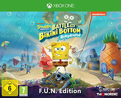 Spongebob SquarePants: Battle for Bikini Bottom - Rehydrated - F.U.N. Edition [Xbox One]