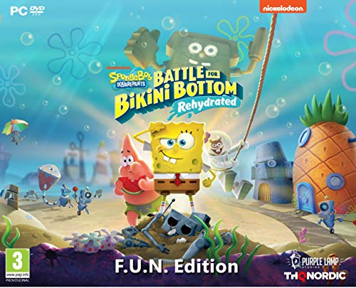 Spongebob SquarePants: Battle for Bikini Bottom - Rehydrated - F.U.N. Edition [PC]