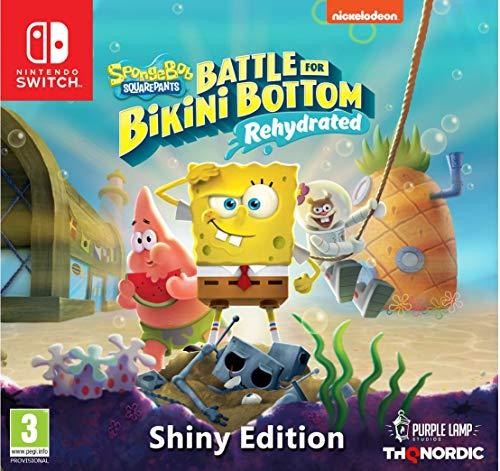 Spongebob SquarePants: Battle for Bikini Bottom - Rehydrated - Shiny Edition [Nintendo Switch]