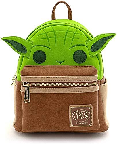 Loungefly x Pop! Star Wars Yoda Cosplay Mini-Rucksack, Multi (Mehrfarbig) - STBK0156