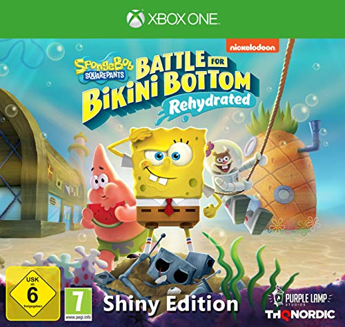 Spongebob SquarePants: Battle for Bikini Bottom - Rehydrated - Shiny Edition [Xbox One]