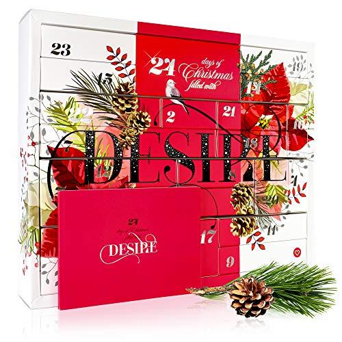Amorana Erotischer Adventskalender für Paare – Erotik Kalender mit 25 sinnlichen Überraschungen, Geschenkset für Anfänger und Fortgeschrittene, Classic