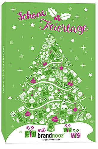 brandnooz - Riesen Weihnachts XXL Adventskalender | 24x Überraschungsmomente | 24x Markenprodukte für Kleine und Erwachsene