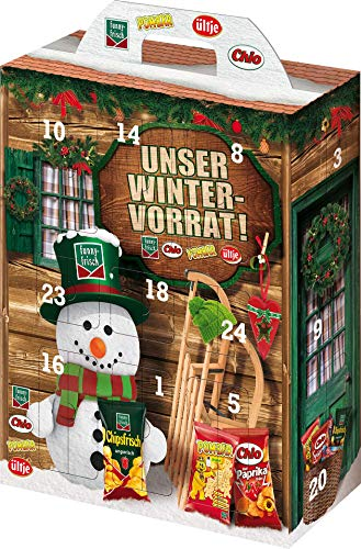 Handelshaus Huber-Koelle 13754-1 Adventskalender , 790 gr