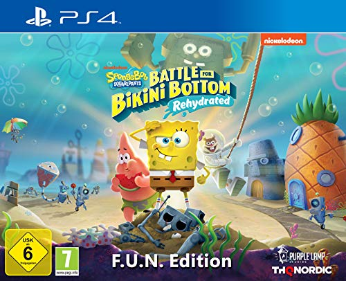 Spongebob SquarePants: Battle for Bikini Bottom - Rehydrated - F.U.N. Edition [Playstation 4]