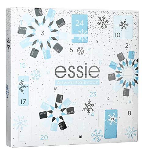 essie Adventskalender Nagellack 2019 Frauen - 24 hochwertige Überraschungen, moderne Nagellack-Farben, Pflege und Accessoires, limitierter Kalender