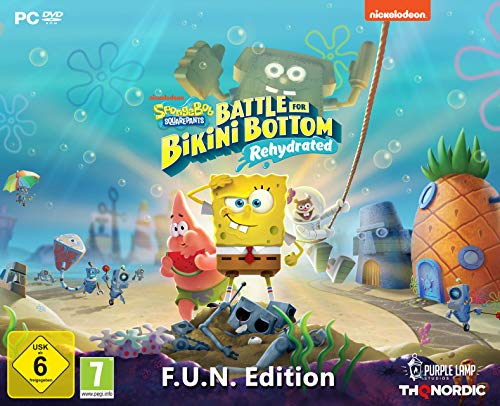 Spongebob SquarePants: Battle for Bikini Bottom - Rehydrated - F.U.N. Edition [PC]