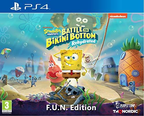 Spongebob SquarePants: Battle for Bikini Bottom - Rehydrated - F.U.N. Edition [Playstation 4]