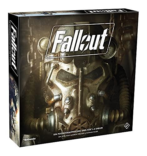 Asmodee Fallout, Grundspiel, Expertenspiel, Strategiespiel, Deutsch