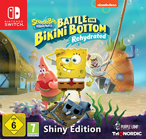 Spongebob SquarePants: Battle for Bikini Bottom - Rehydrated - Shiny Edition [Nintendo Switch]