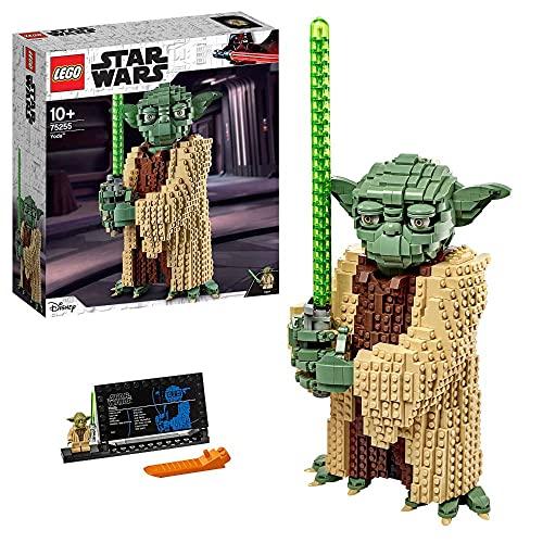 Lego 75255 Star Wars Yoda Bauset, Sammlermodell mit Displayständer, Angriff der Klonkrieger Kollektion