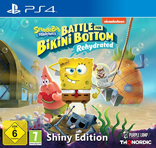 Spongebob SquarePants: Battle for Bikini Bottom - Rehydrated - Shiny Edition [Playstation 4]