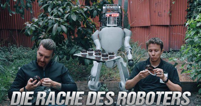 Boston Dynamics Parodie