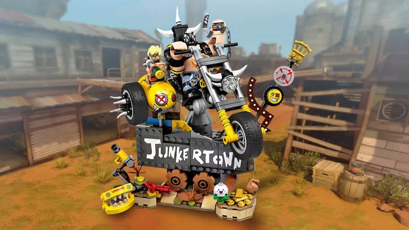 Der Junkertown Bausatz mit Junkrat und Roadhog