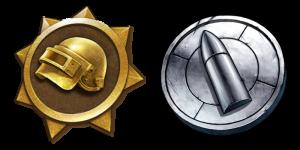 Chicken Medal und Silver Bullet in PUBG Lite