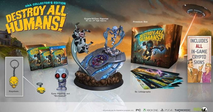 Destroy All Humans! DNA Collectors-Edition