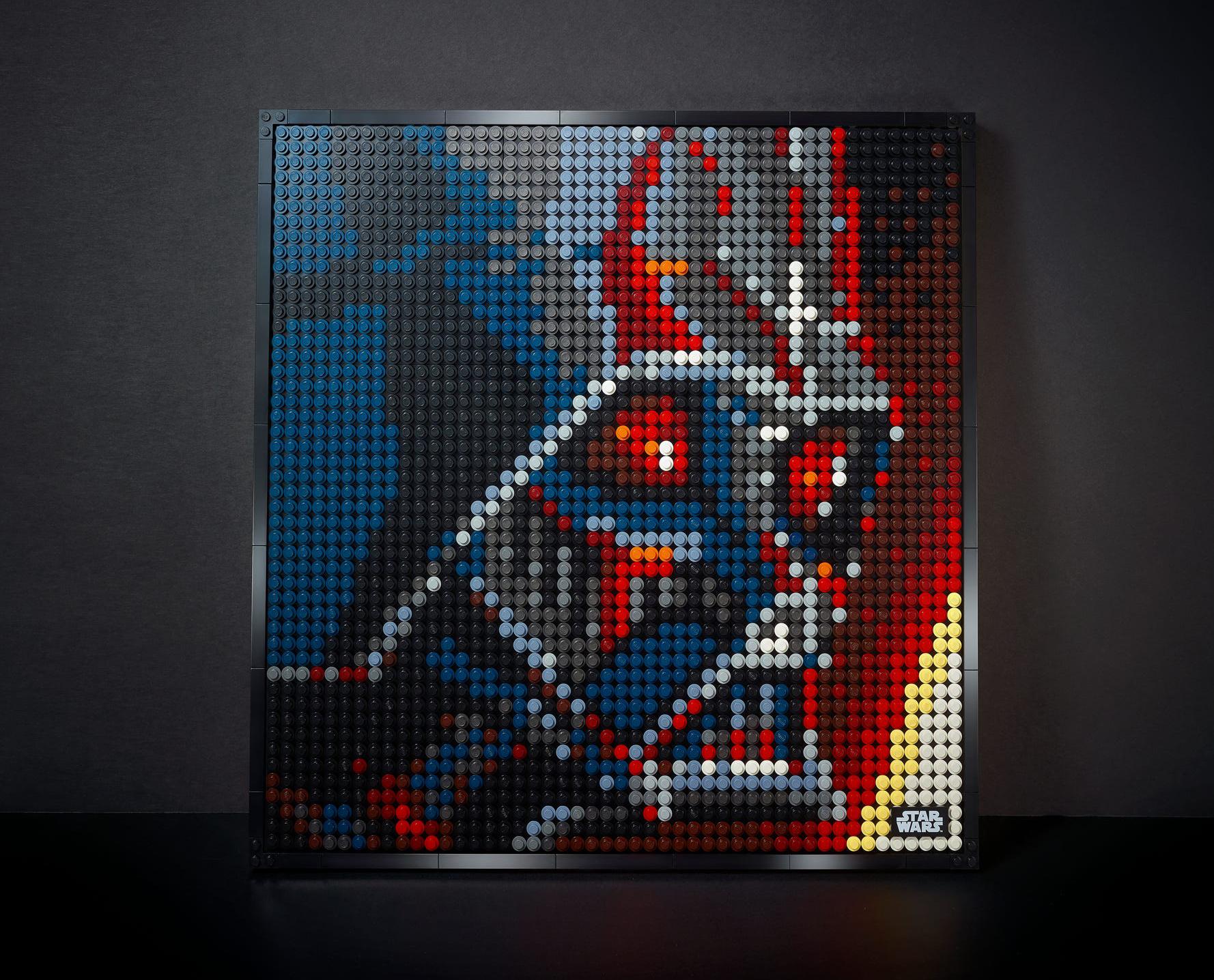 LEGO Art Star Wars™: Die Sith – Kunstbild