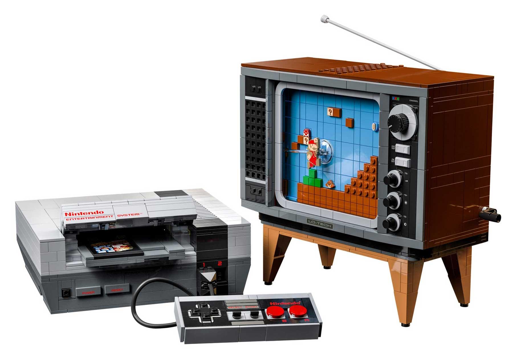 Jetzt schon kultig! Das neue LEGO Nintendo Entertainment System (71374) Bildquelle: LEGO