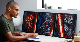 Lego Art Die Sith Kunstbild