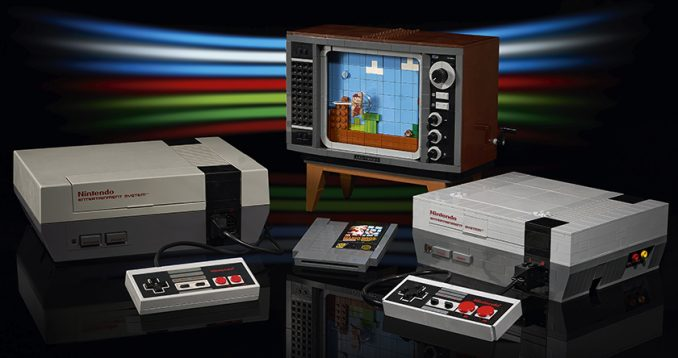 Nintendo Entertainment System - NES aus Lego