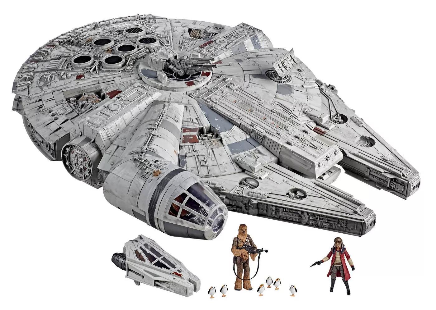 Star Wars The Vintage Collection Galaxy's Edge Millennium Falcon Smuggler's Run