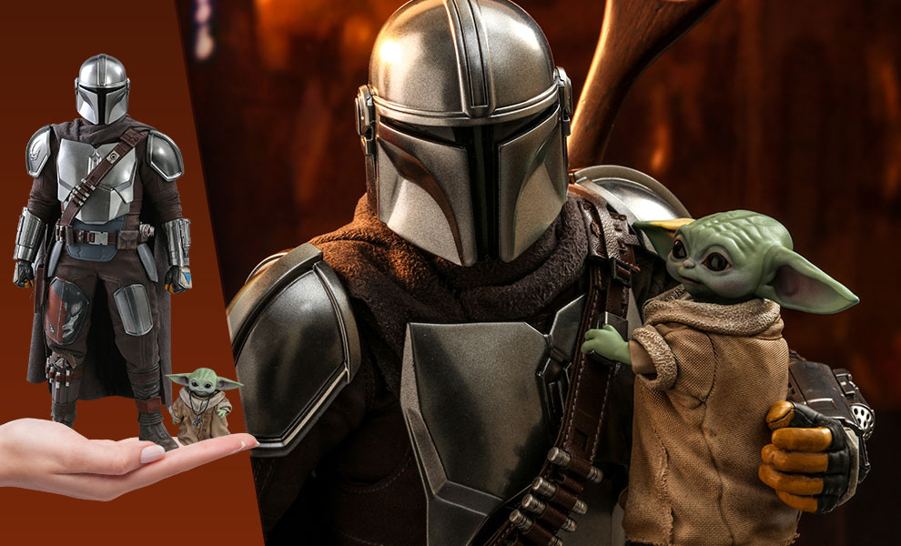 The Mandalorian and The Child Sixth Scale Collectible Set von Hot Toys