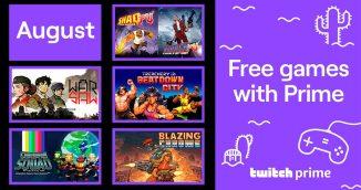 Twitch Prime bietet im August 2020 wieder 5 kostenlose Games an