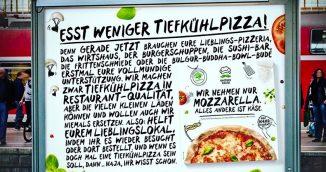 Esst weniger Tiefkühlpizza – Gustavo Gusto ruft zum eigenen Boykott auf