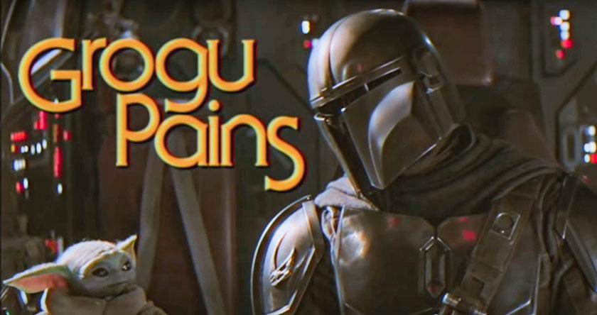 Grogu Pains - The Mandalorian als 90er Jahre Sitcom